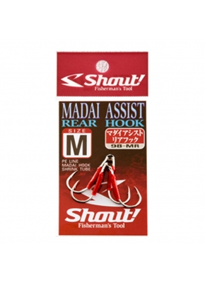 Shout Madai Assist Rear Hook Serisi Olta İğnesi